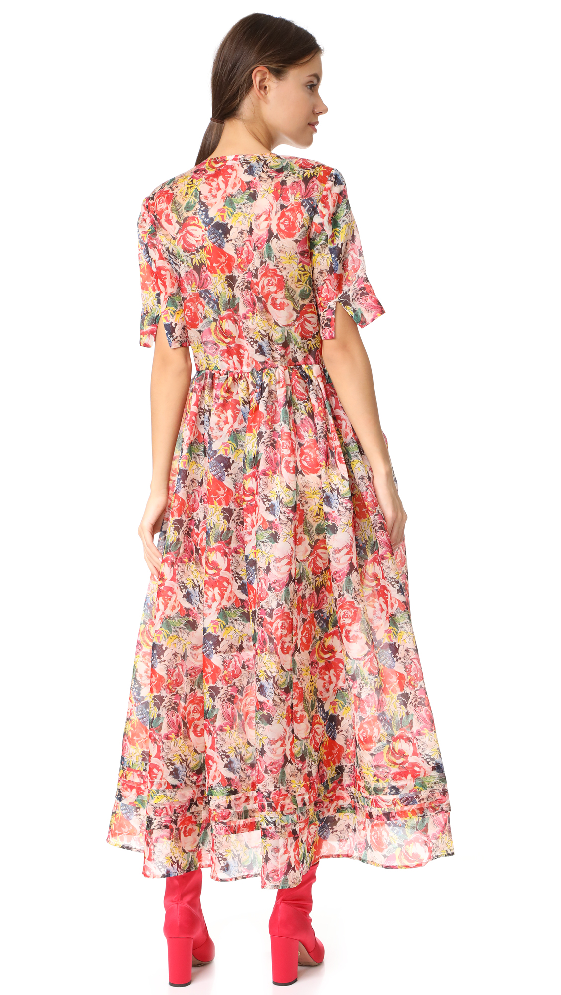 d7c9c978 GANNI Seneca Silk Dress | SHOPBOP