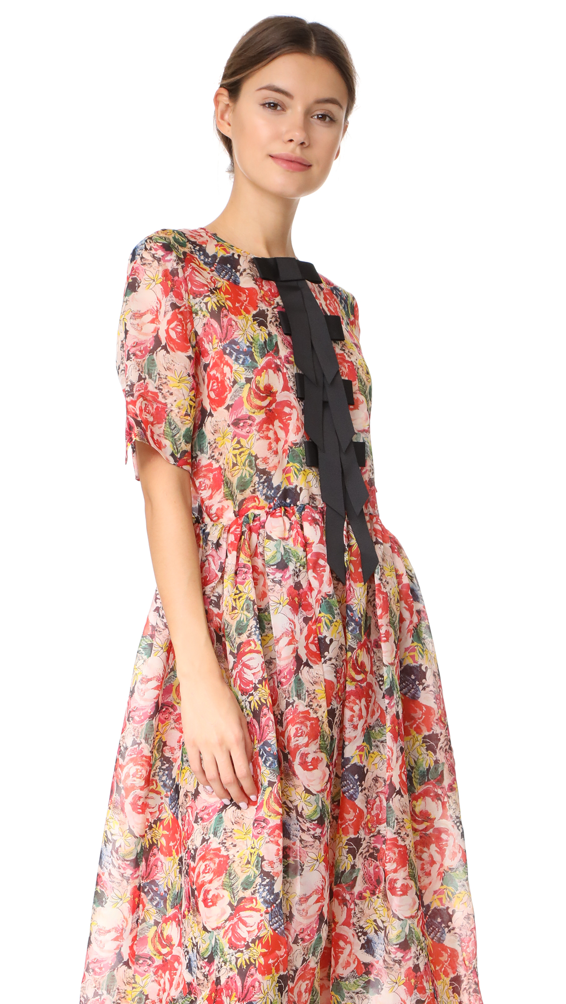 9108af56 GANNI Seneca Silk Dress | SHOPBOP