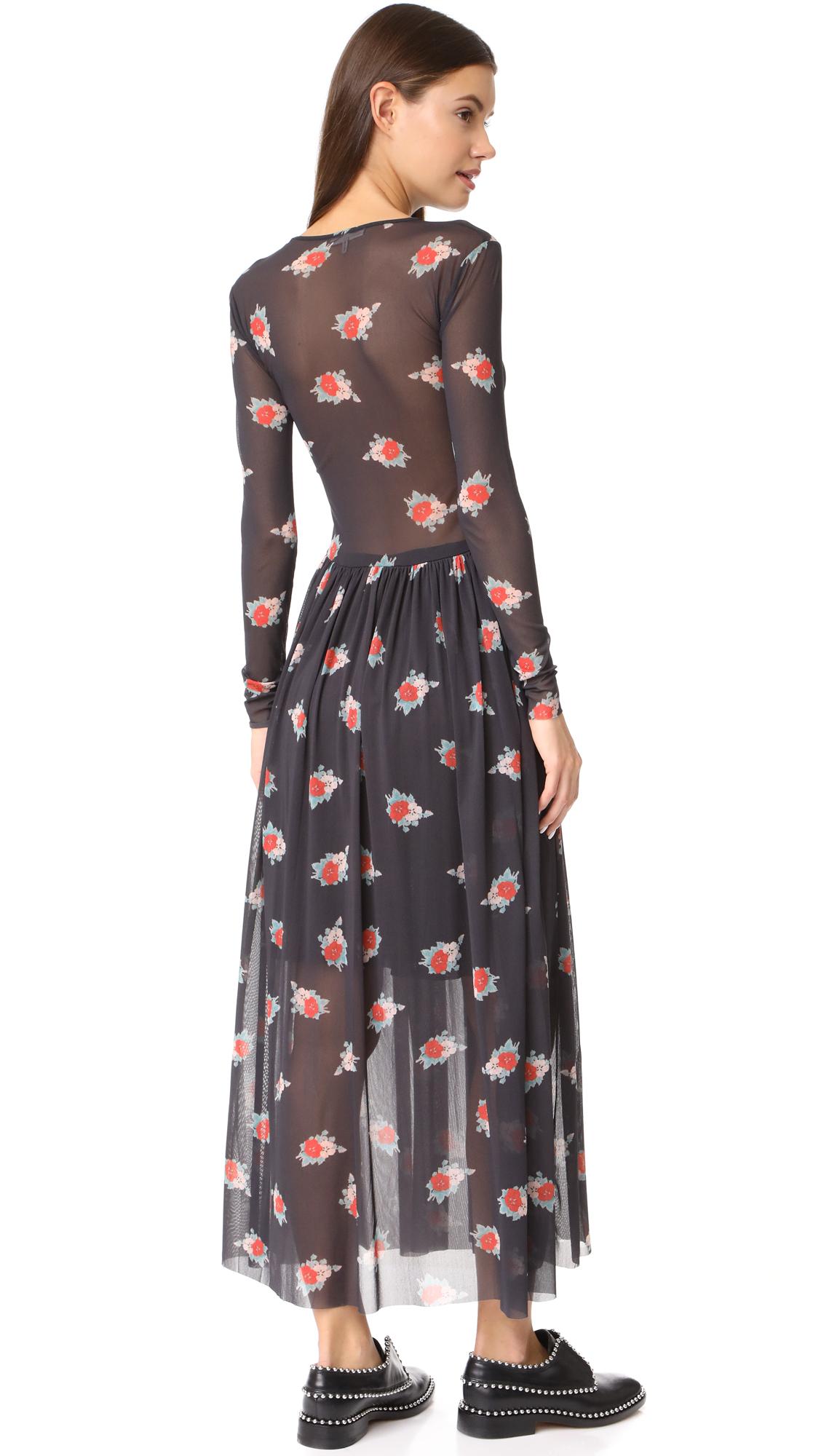 22110496e1d GANNI Tilden Mesh Dress