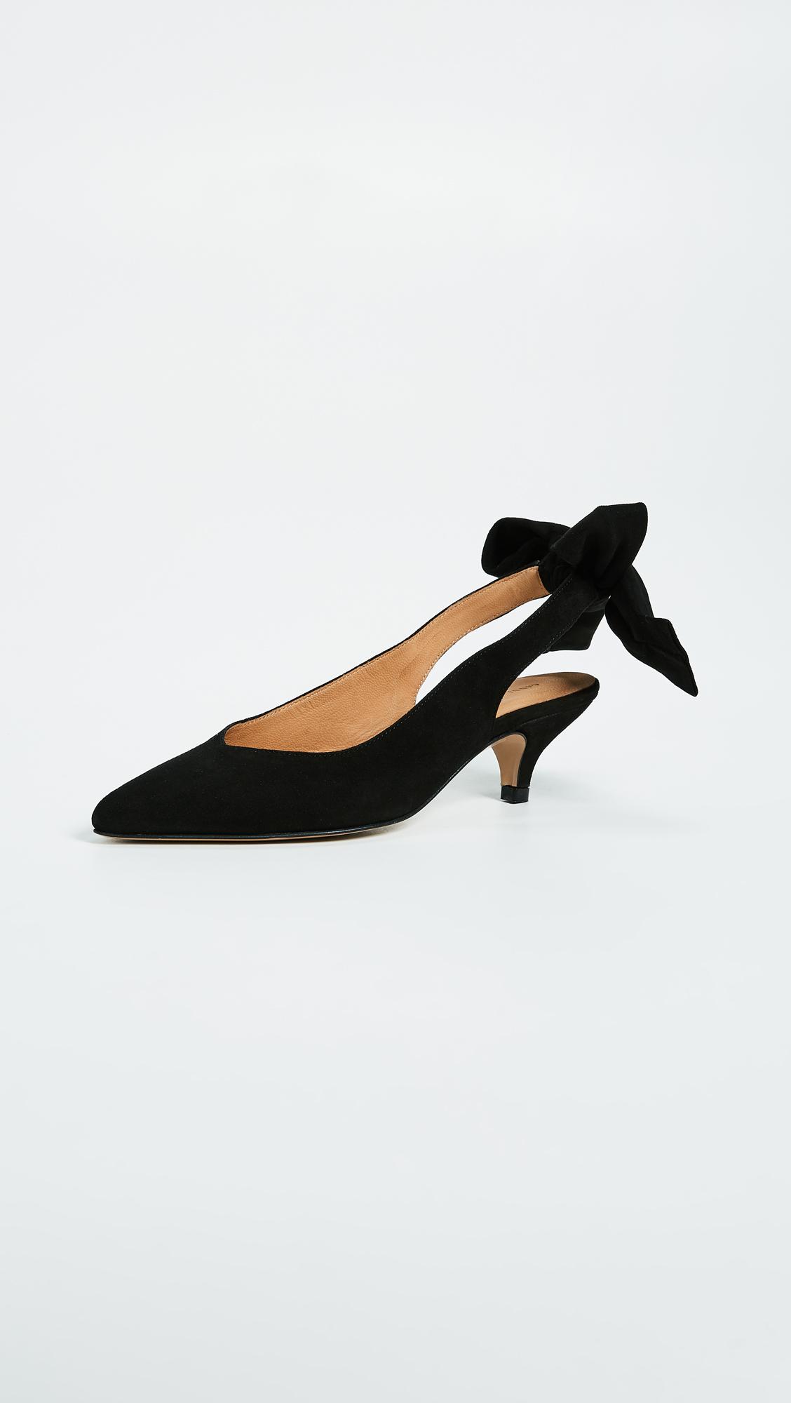 626ab3d6d91 GANNI Bow Kitten Heels
