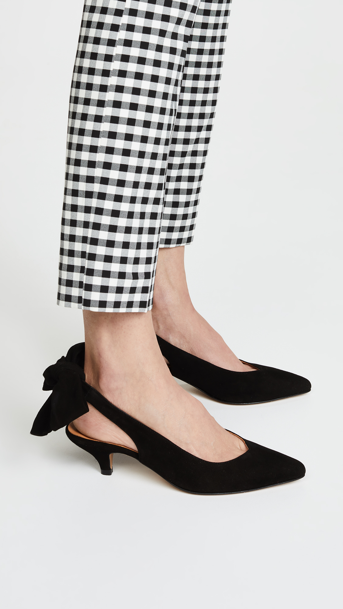 top brands price reduced competitive price GANNI Bow Kitten Heels | SHOPBOP