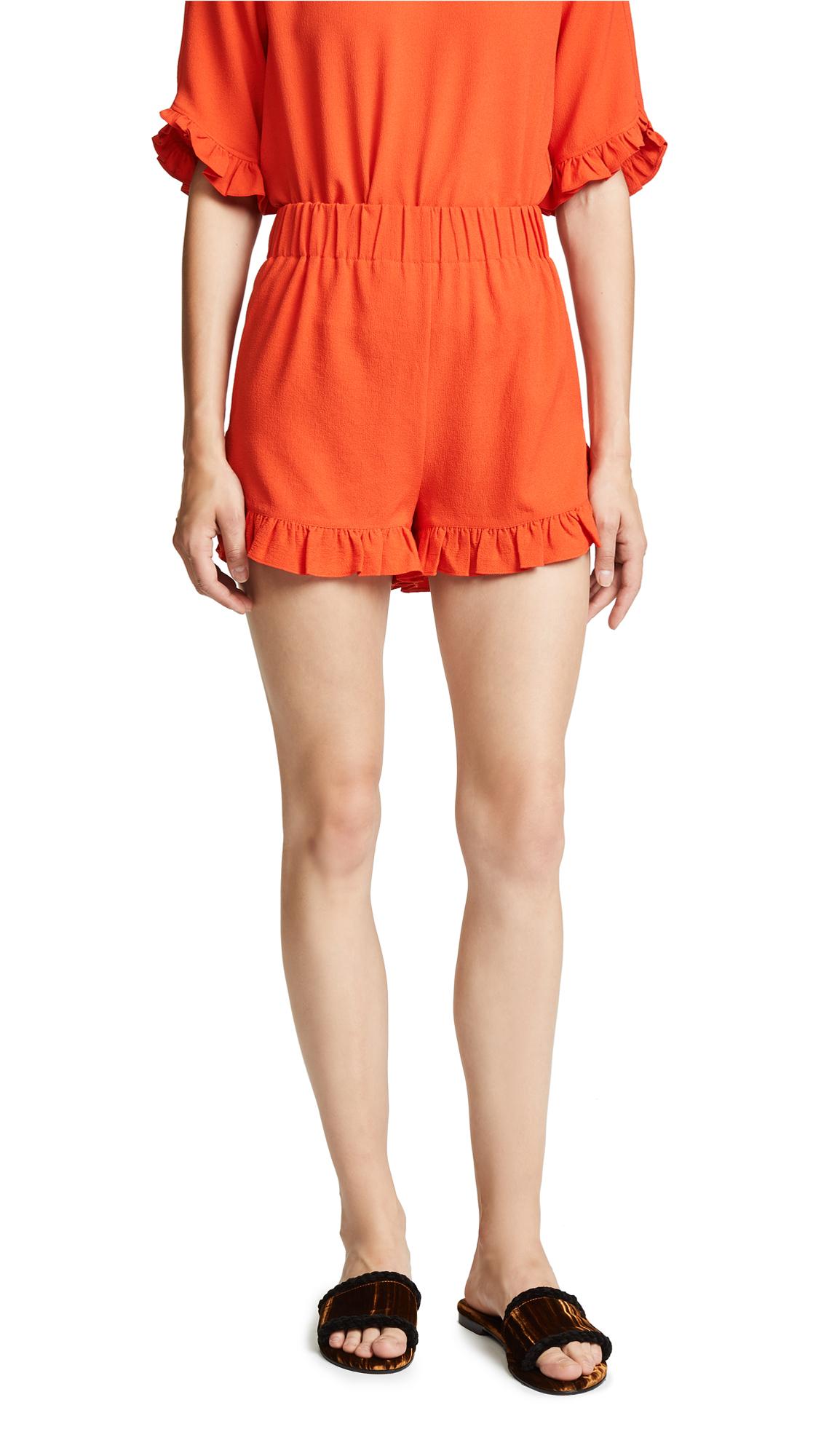 Ganni Clark Shorts
