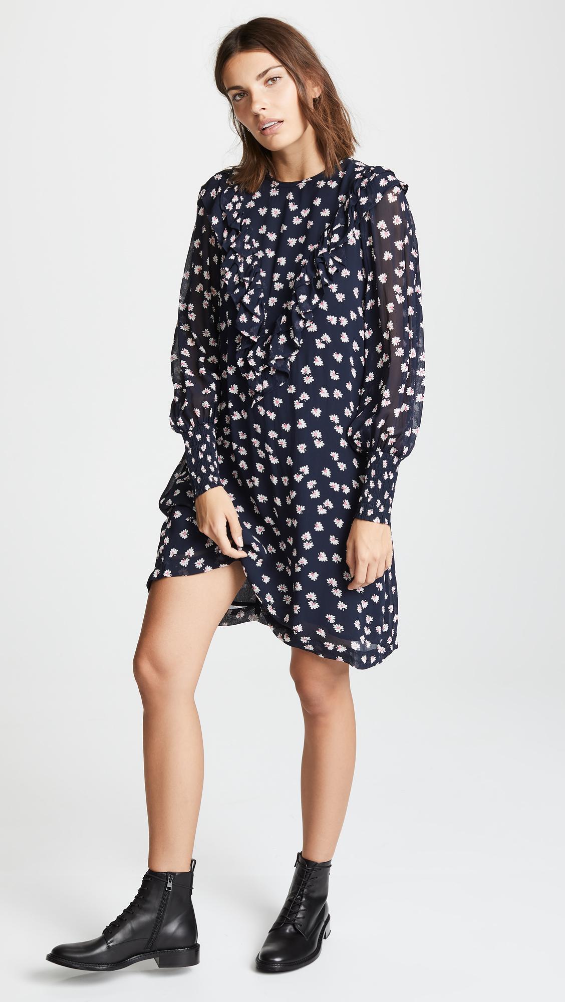 9fffcdc46d86 GANNI Rometty Mini Dress | SHOPBOP