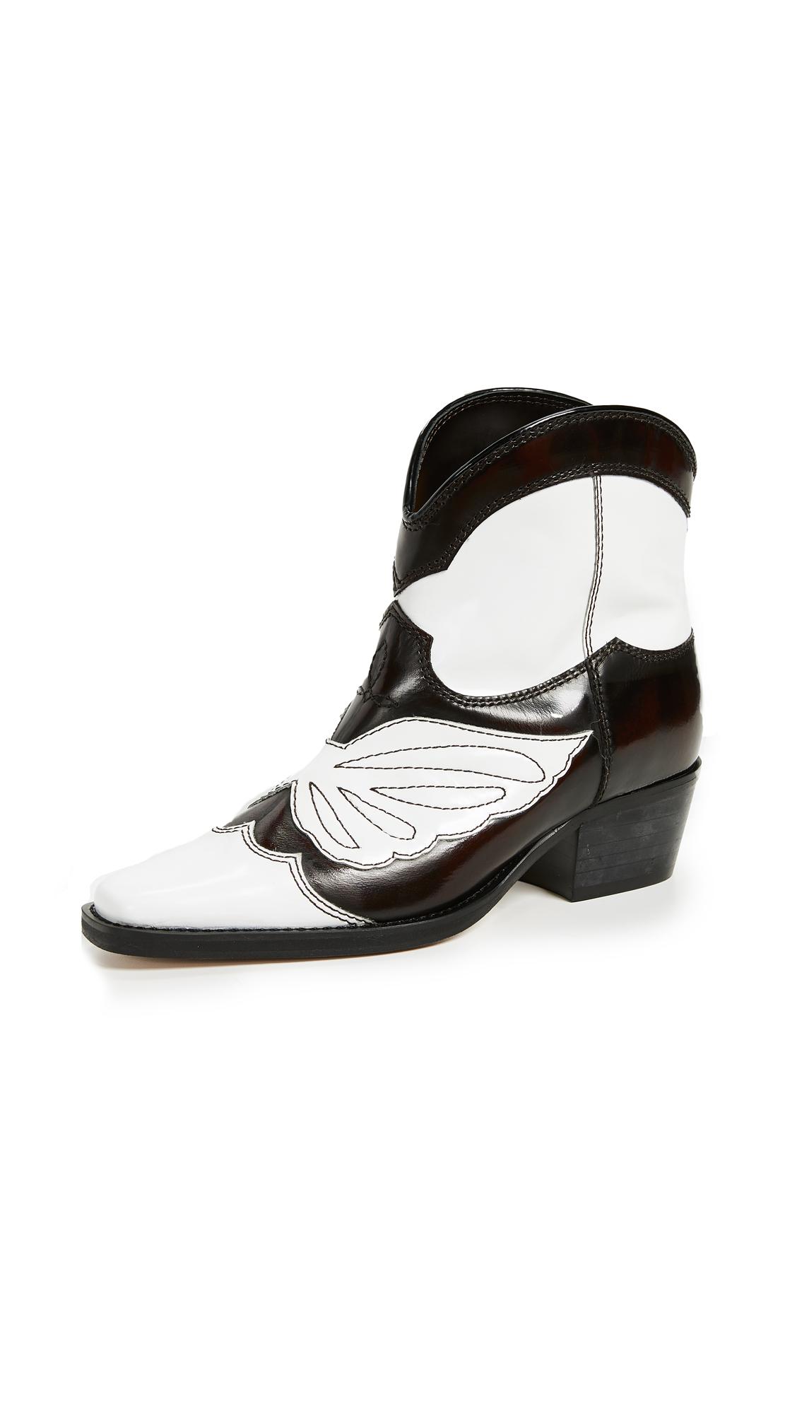 Ganni Meg Boots - Ganache