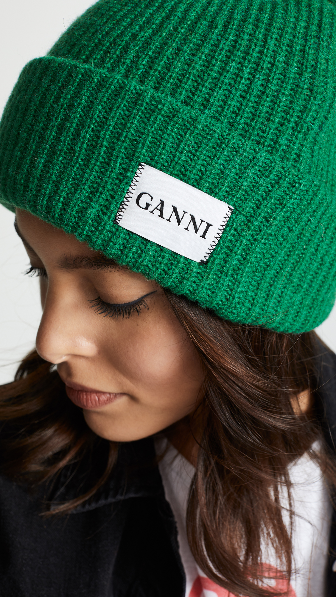 GANNI Hatley Knit Hat  3f87bfc4a4a5
