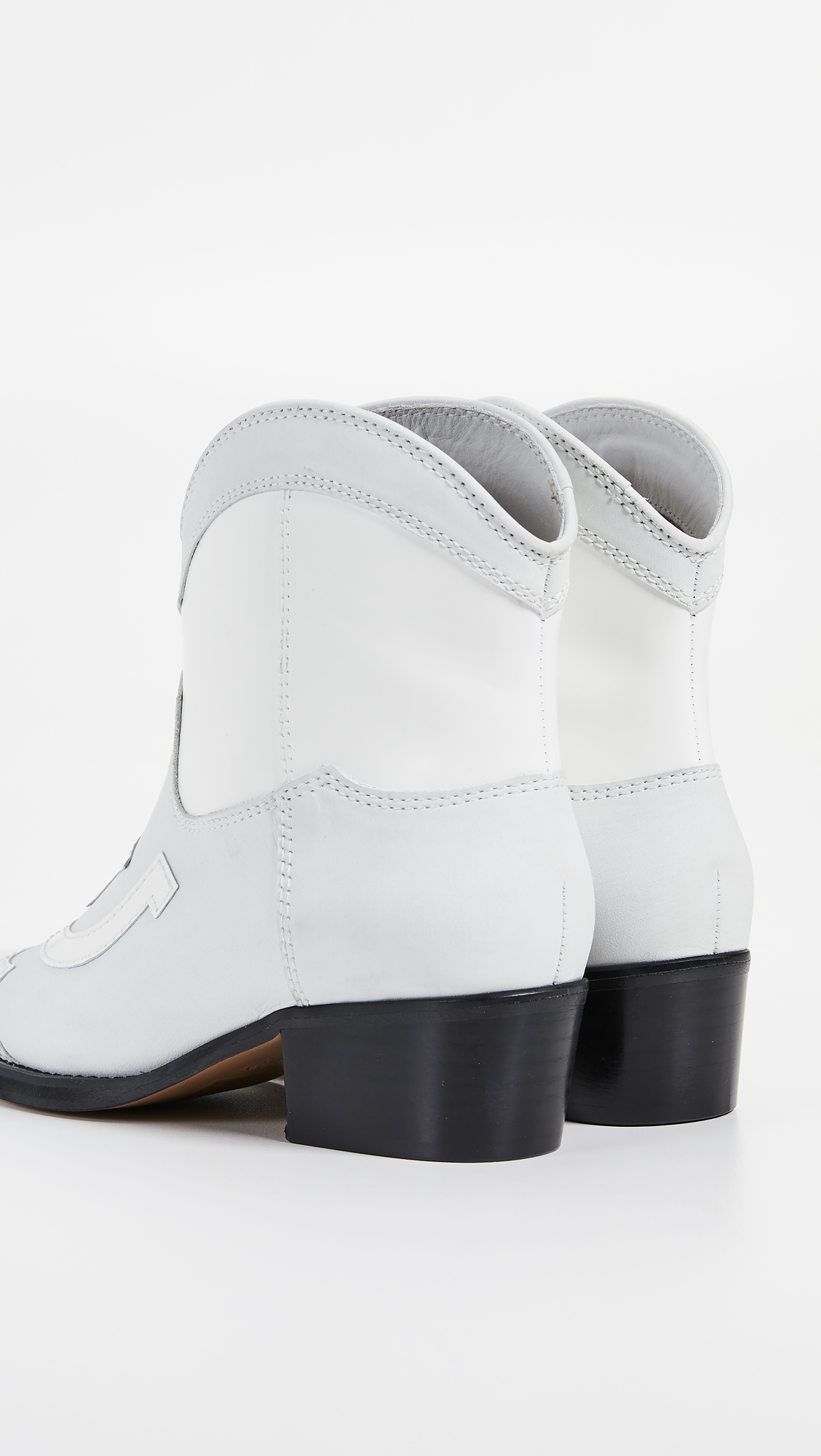 18df0908c1c2 GANNI Low Texas Boots