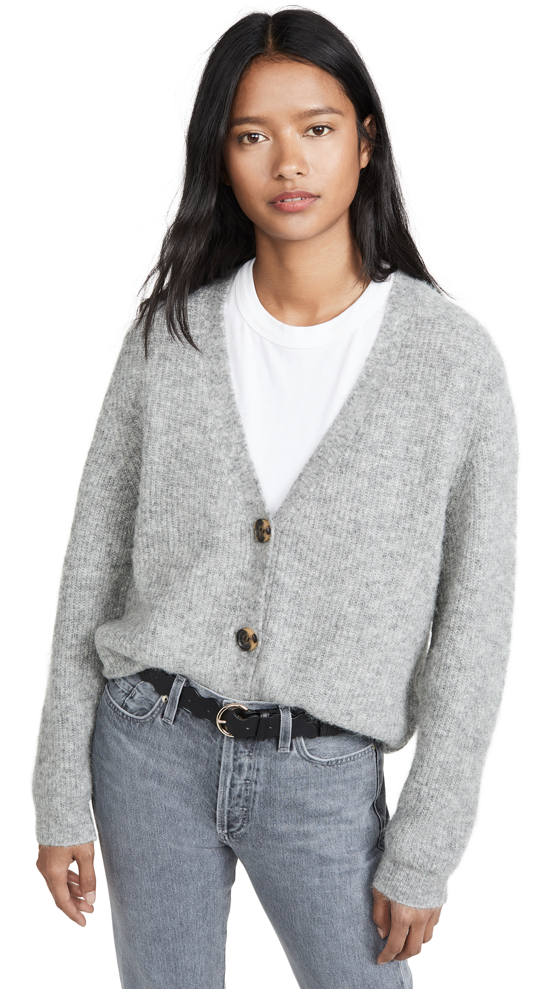 Buy GANNI online - photo of GANNI Soft Wool Knit Cardigan