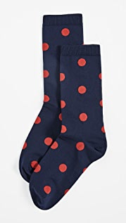GANNI Polka Dot Ankle Socks