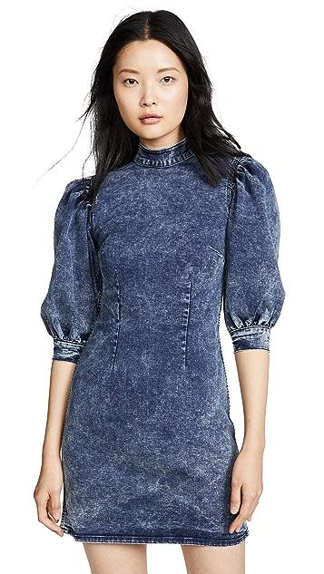 Photo of  GANNI Cult Stretch Dress - shop GANNI dresses online sales