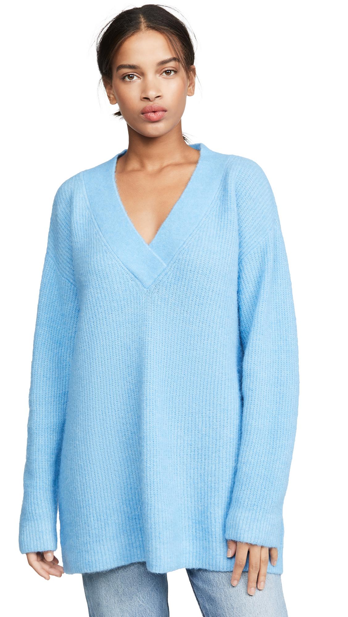 Buy GANNI online - photo of GANNI Soft Wool Knit Sweater