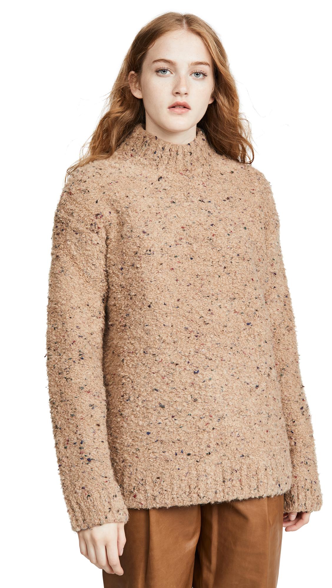 Buy GANNI online - photo of GANNI Slub Knit Sweater
