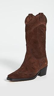GANNI High Western 靴子