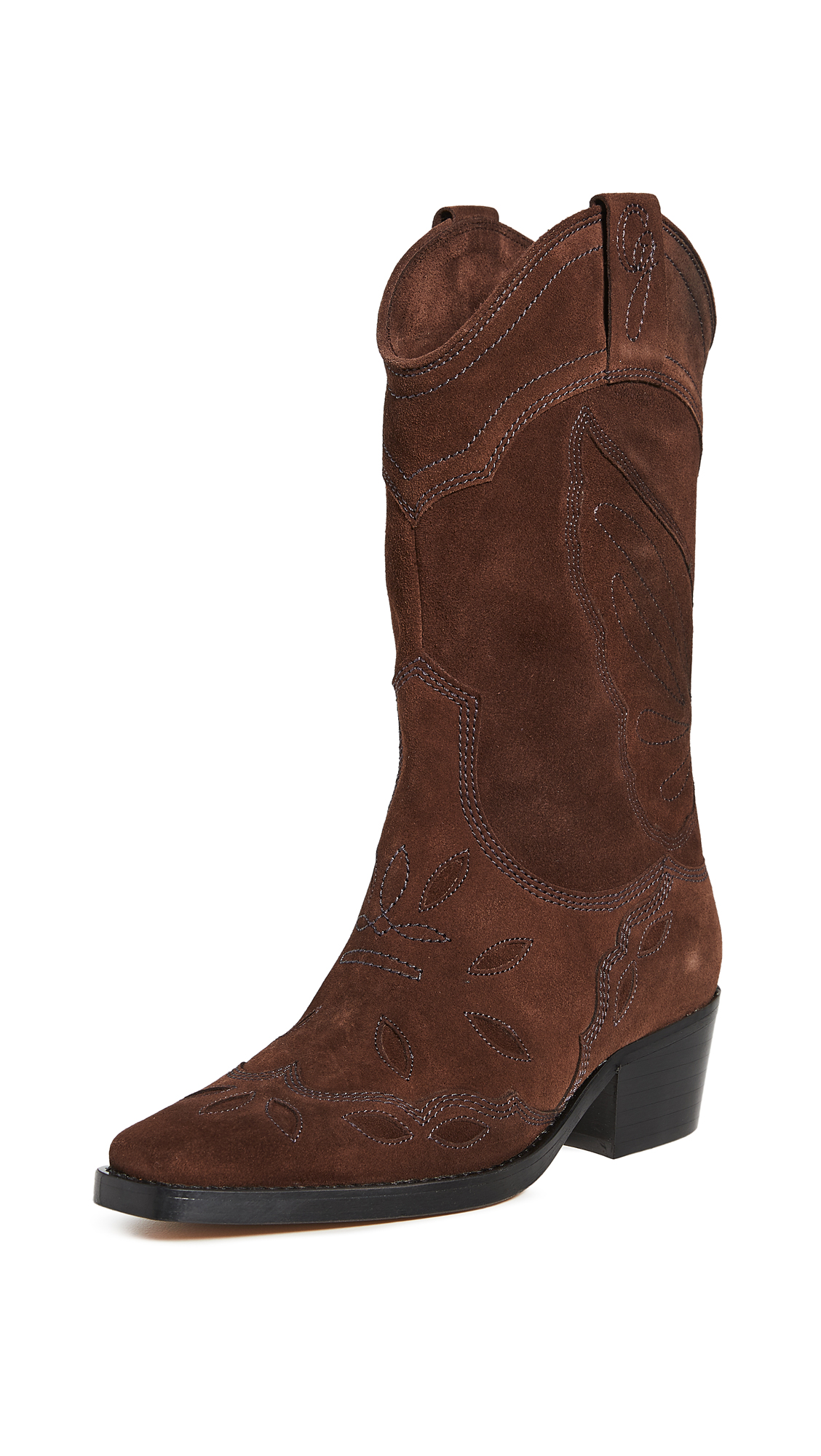 GANNI High Western Boots – 40% Off Sale