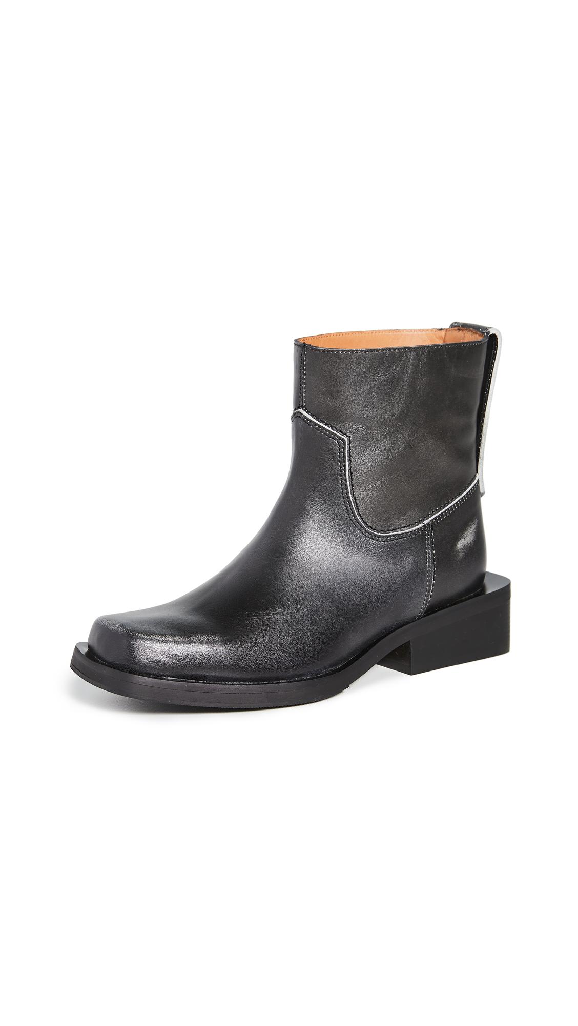 Buy GANNI Low MC Boots online, shop GANNI