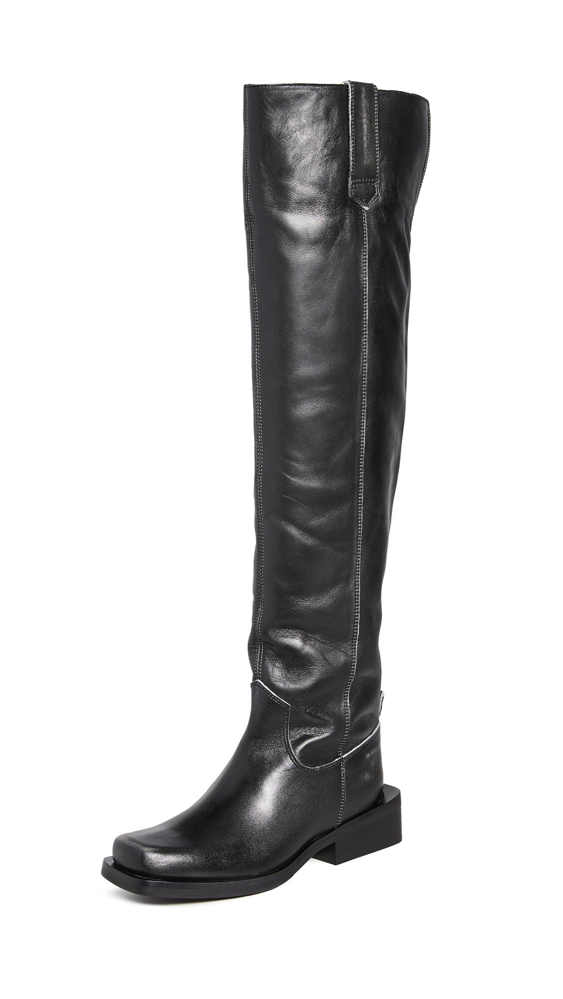 Buy GANNI online - photo of GANNI MC Knee Boots