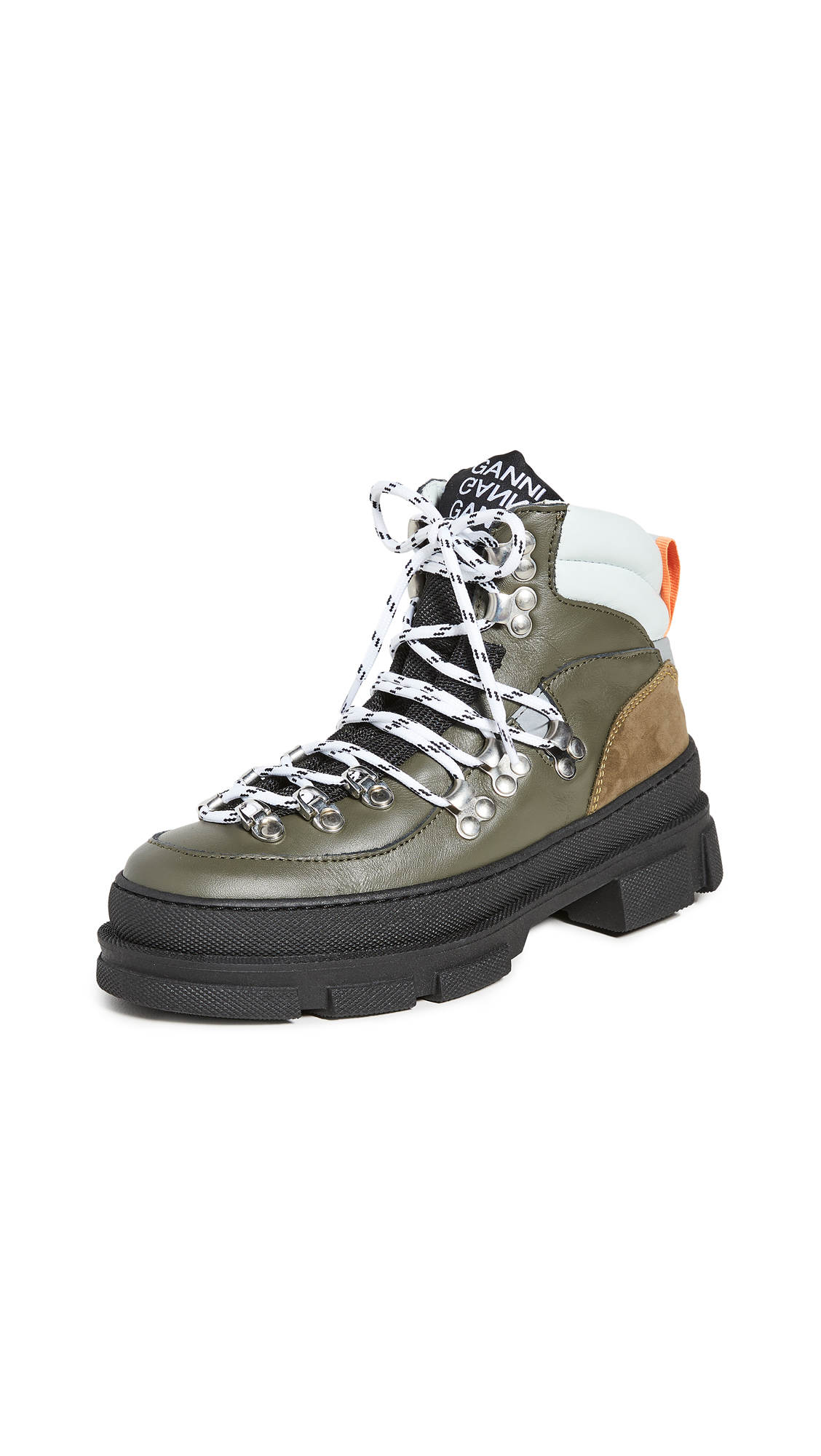 GANNI Sporty Hiking Boots - 40% Off Sale