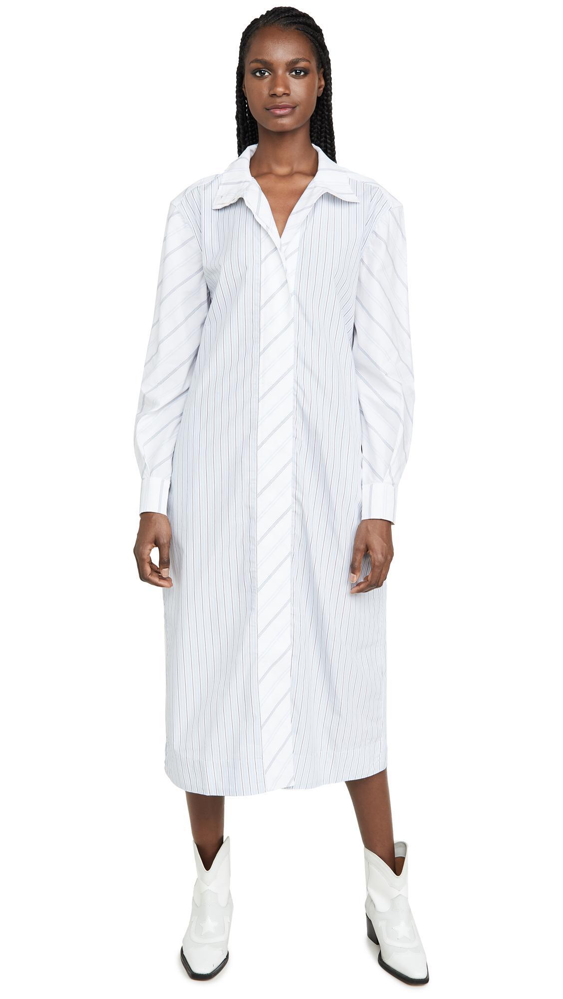 Buy GANNI online - photo of GANNI Shirting Cotton Dress