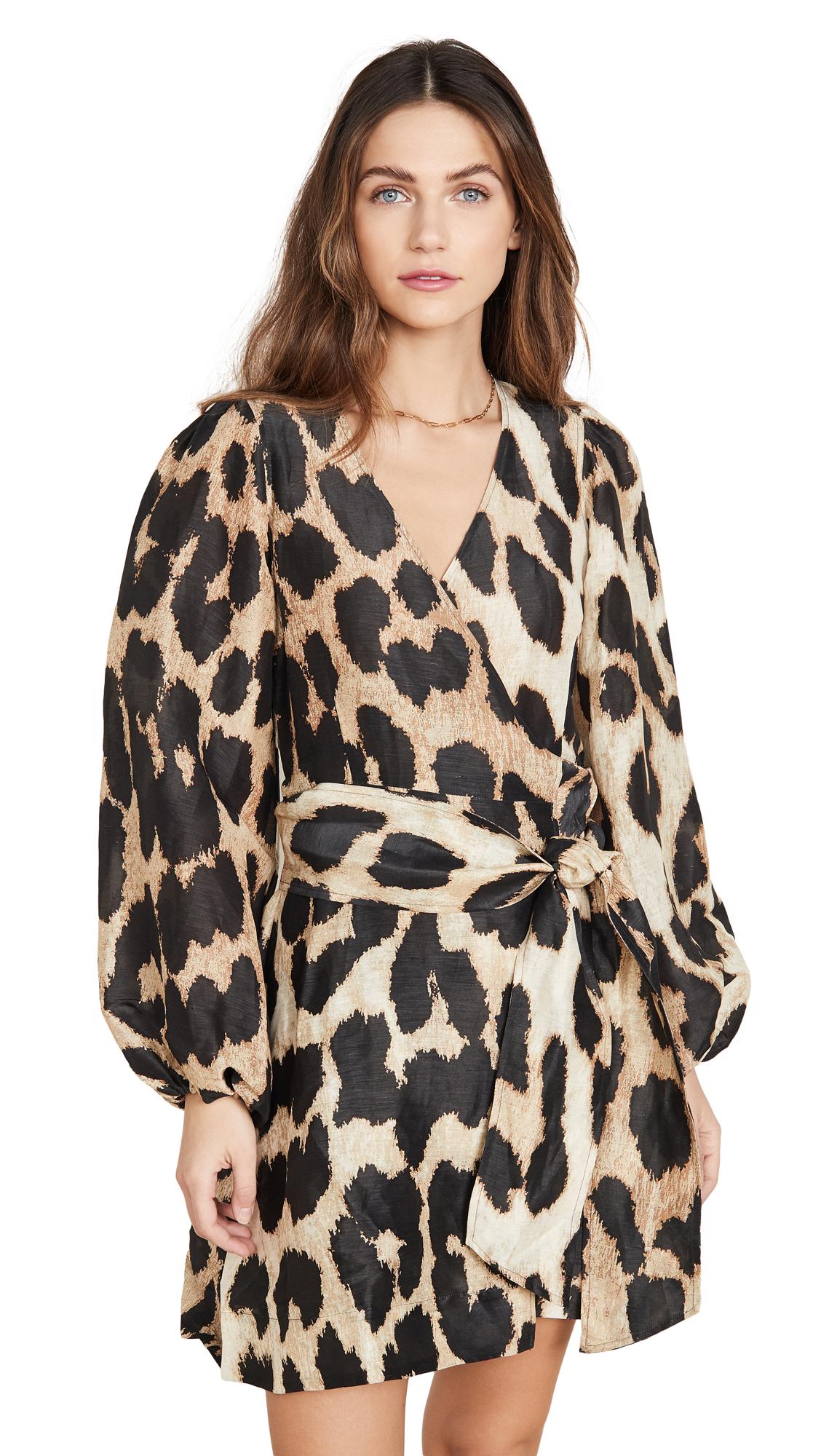 Buy GANNI Linen Dress online beautiful GANNI Clothing, Dresses