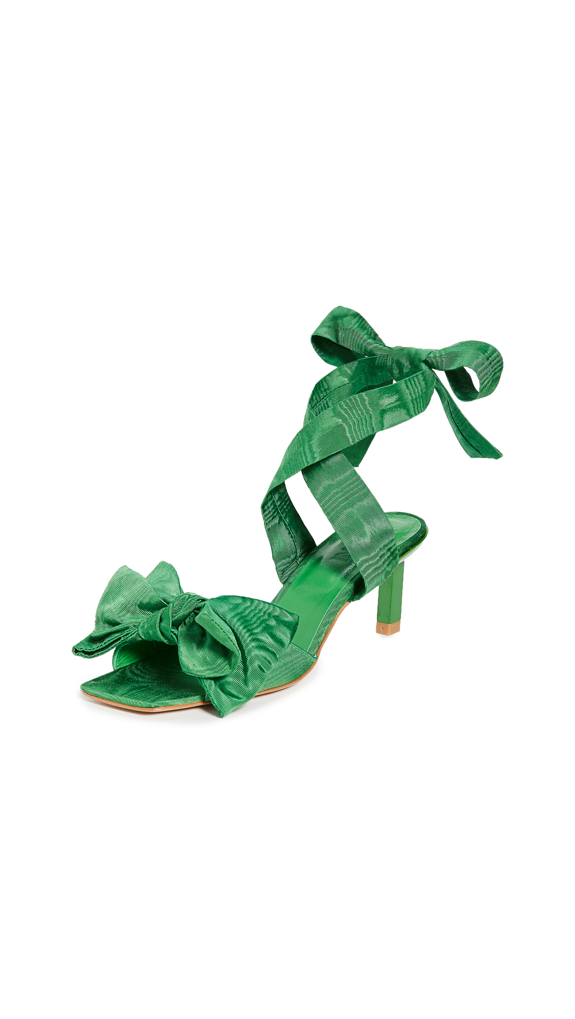 GANNI Heeled Bow Sandals - 30% Off Sale