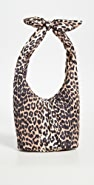 GANNI Mini Leopard Shoulder Bag