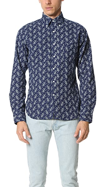 Gant Rugger Indigo Oxford Mikado Shirt
