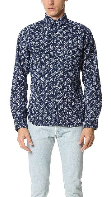 Gant Rugger Indigo Oxford Mikado Shirt