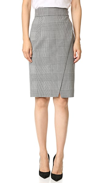 Gareth Pugh Glen Plaid Skirt - Multi