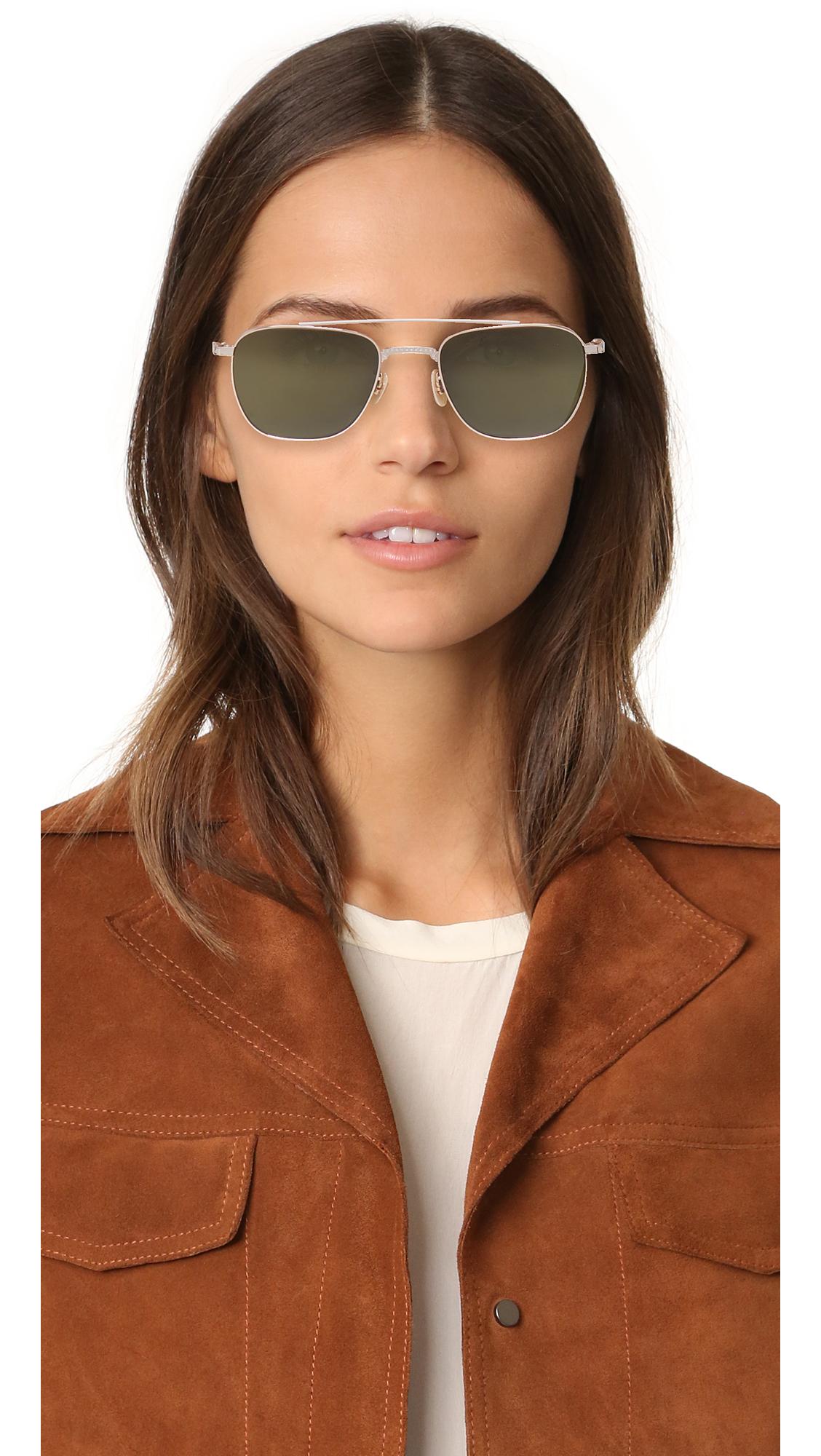 260a0b67d7 GARRETT LEIGHT Riviera Sunglasses