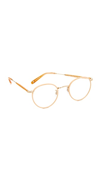 GARRETT LEIGHT Wilson Glasses - Rose Pearl/Clear