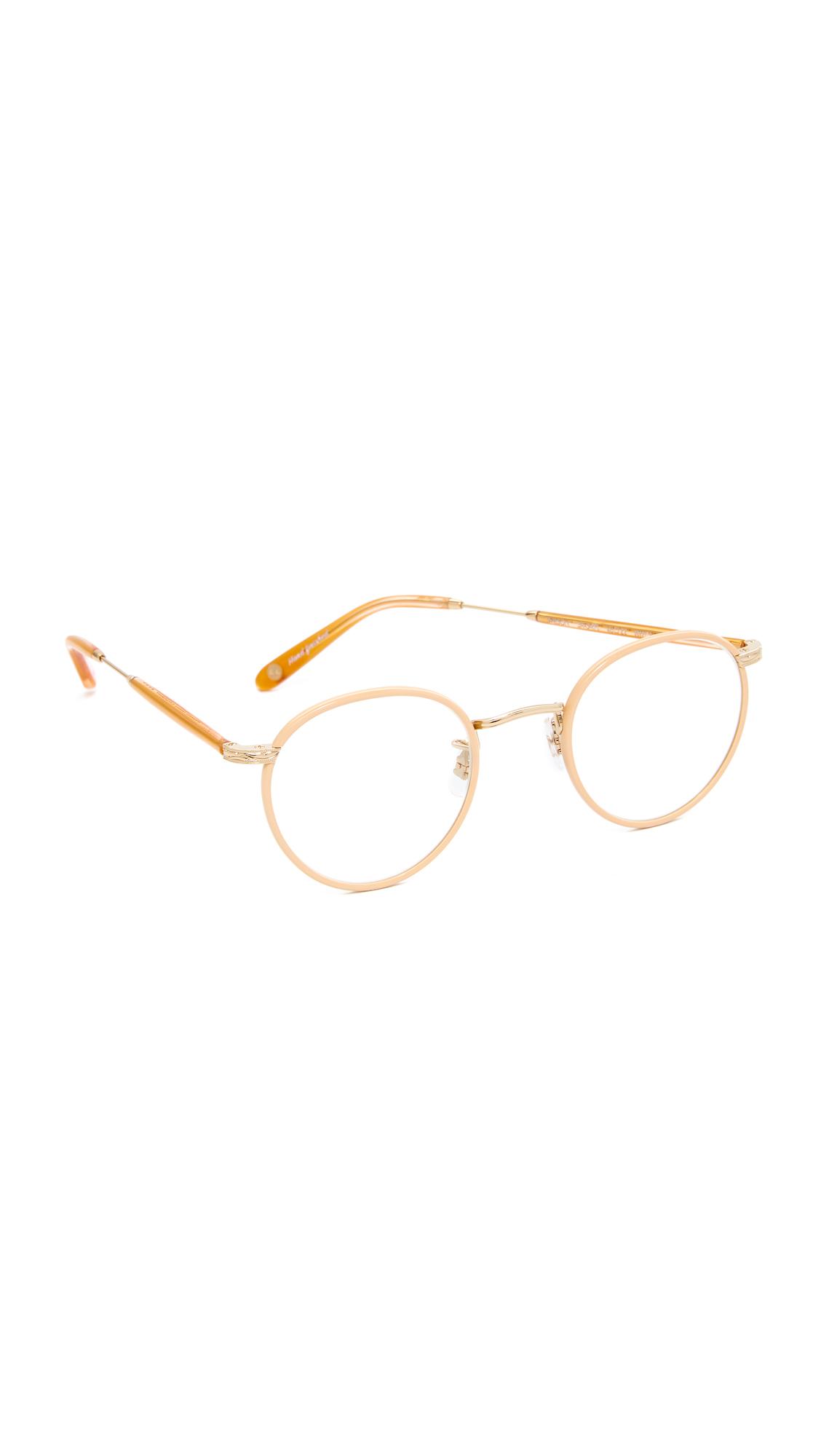 GARRETT LEIGHT Wilson Glasses - Rose Pearl/Clear