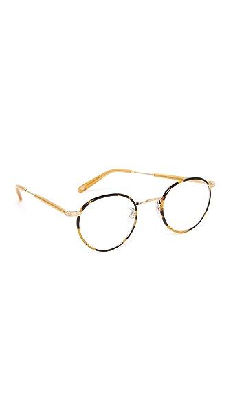 GARRETT LEIGHT Wilson Glasses - Tokyo Tortoise/Clear