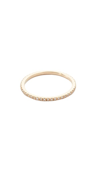 Gabriela Artigas Axis Ring - Yellow Gold/White Diamonds