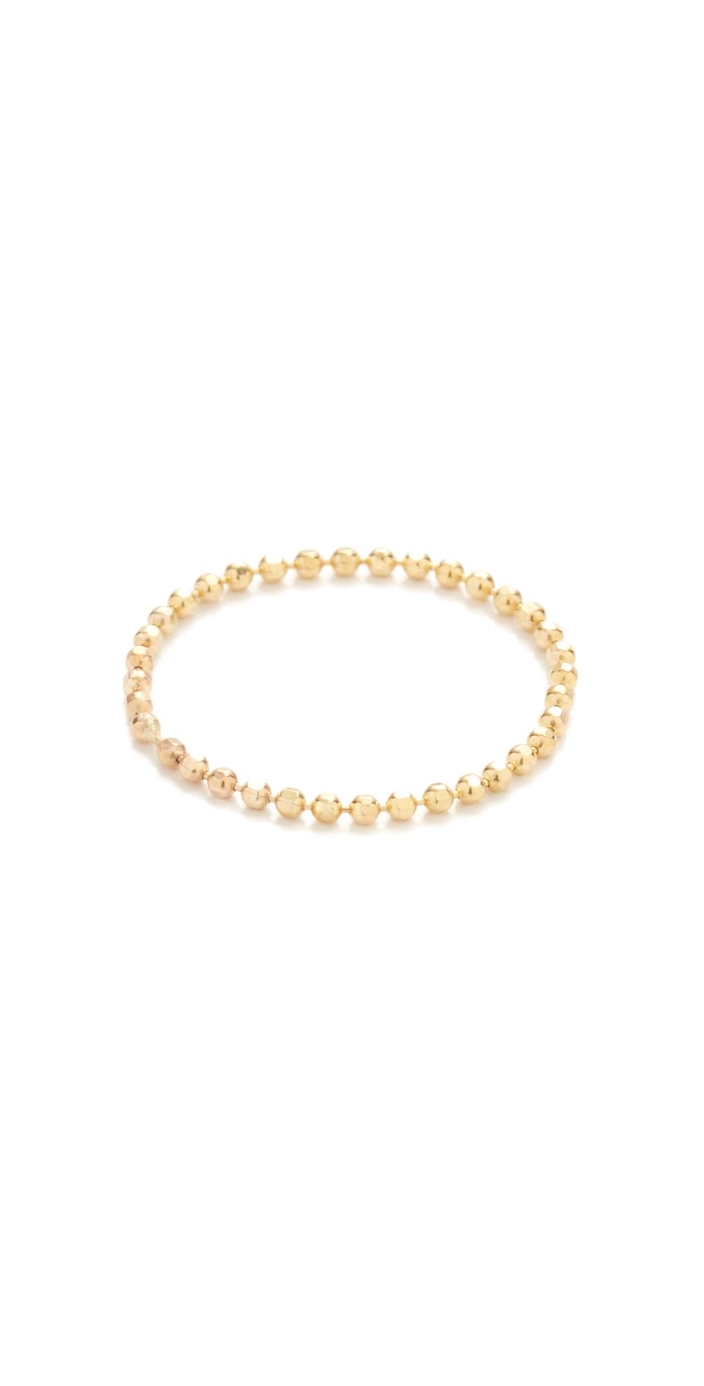 Soft Ball Chain Ring Gabriela Artigas
