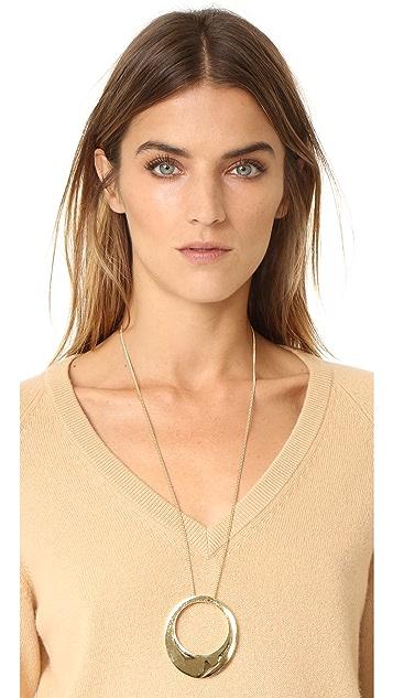 Gabriela Artigas Large Egg Pendant Necklace