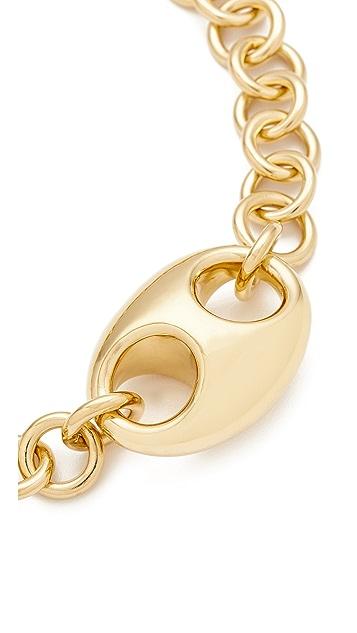 Gabriela Artigas Egg Link Chain Choker Necklace