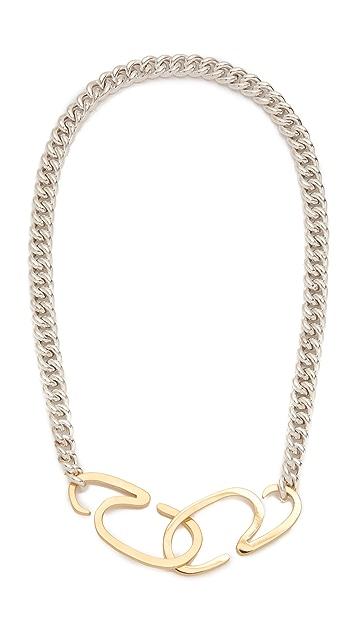 Gabriela Artigas G Clasp Choker Necklace