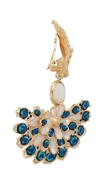 GAS Bijoux Paloma Clip On Earrings