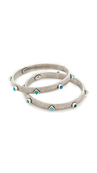 GAS Bijoux Set of 2 Strada S Bracelets