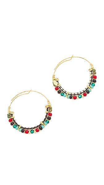 GAS Bijoux Comedia Hoop Earrings - Multi