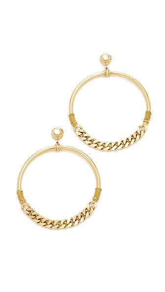 GAS Bijoux Sorane Earrings - White