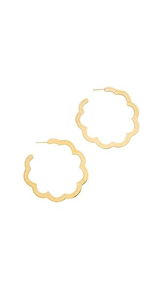 GAS Bijoux Bold Earrings In Gold
