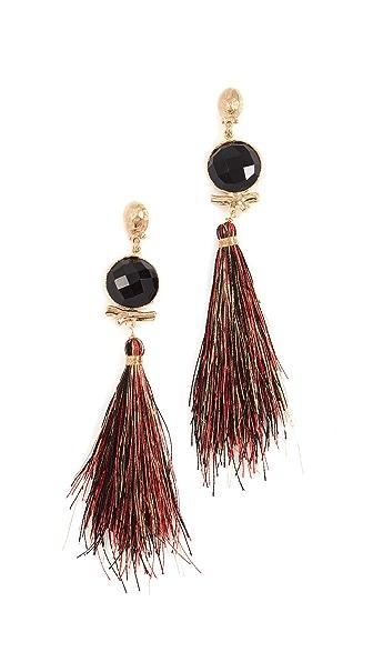 GAS Bijoux Bo Serti Bella Earrings In Gold