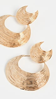 GAS Bijoux Luna Wave Earrings