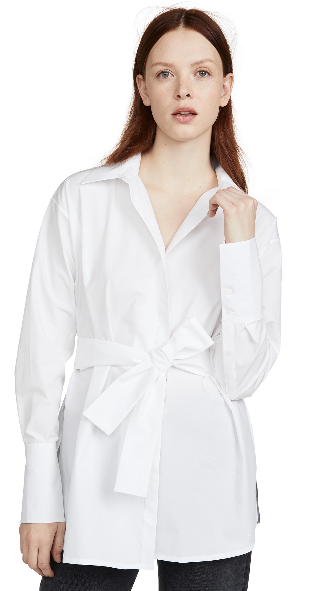 Buy GAUGE81 online - photo of GAUGE81 Casablanca Wrap Shirt