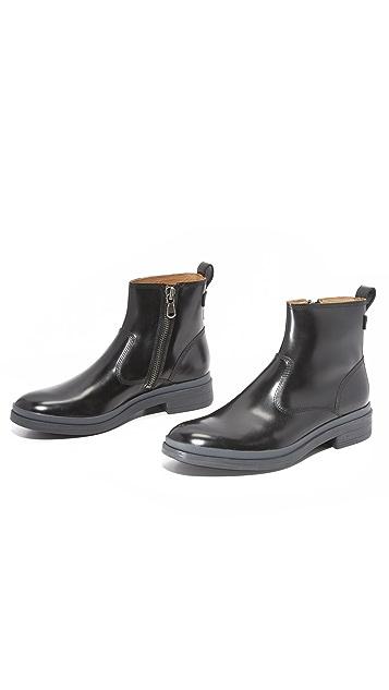 George Brown BILT Brad Waterproof Leather Zip Boots
