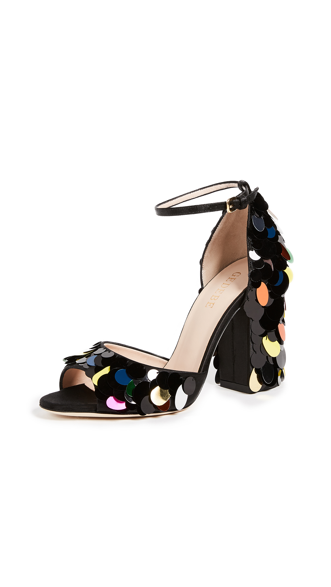 Gedebe Jenny Sandals - Black/Multi