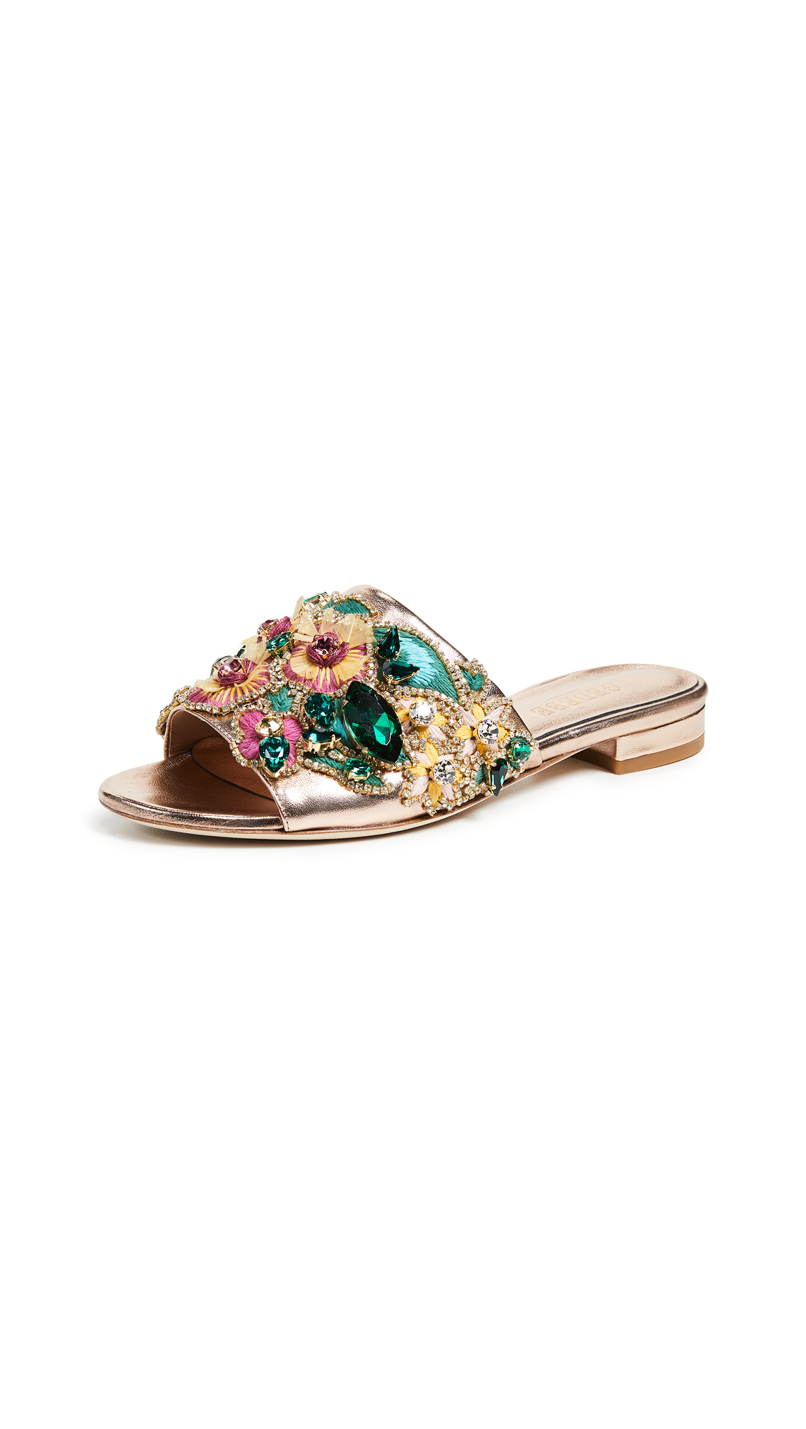 Gedebe Daphne Slides - Rose Gold