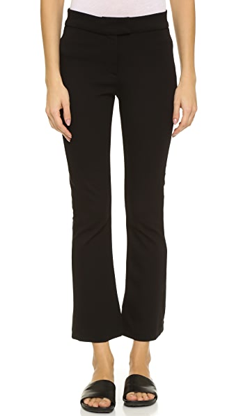 GETTING BACK TO SQUARE ONE Crop Flare Pants