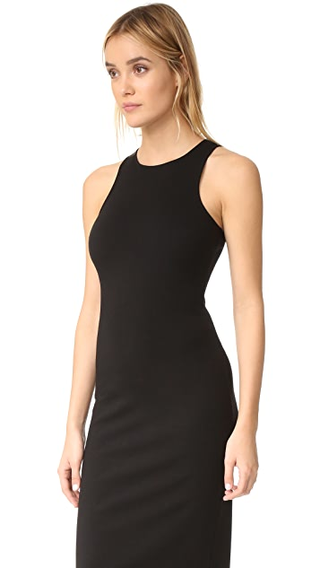 GETTING BACK TO SQUARE ONE Racer Back Dress