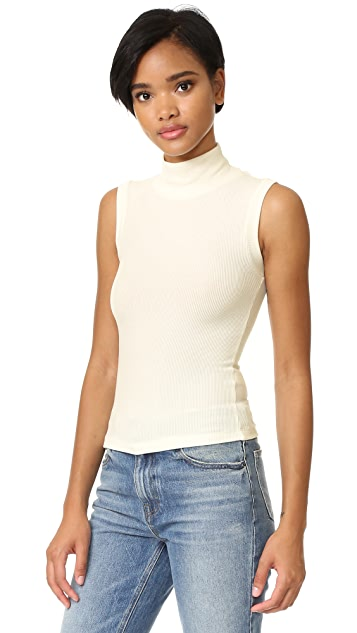 GETTING BACK TO SQUARE ONE Sleeveless Top